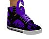 purple hi tops womans