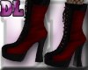 DL: Bad Girl Boots Red