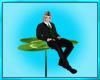 Green Clover Chair