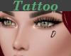 Tattoo Left Cheek D