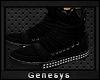 }G{ Brand Sneakers_Black
