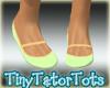 Kids Green Flat Sandals
