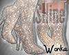 W° iShine Gold Boots.RL