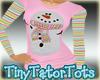 Matching Mom Snowman Top