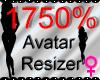 *M* Avatar Scaler 1750%