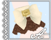 Melty Choco Cuffs~Cream