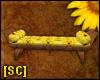 SC Sunflower Bench