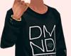 DMND CrewNeck - Black