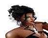 coiffure  soiree noir