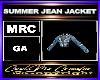 SUMMER JEAN JACKET
