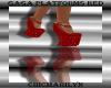 Gaga Platforms Red