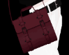 Purple red bag