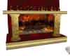 Animated Fire Place