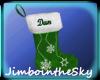 Dans christmas stocking