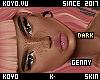 |< Genny! Dark!