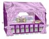Mauve Crib