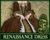 Renaissance Dress Brown