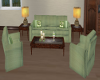 Couch Set Sage Green