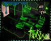 |ts| Amiic hoody .green.