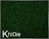 K green grass rug