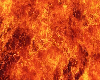 BR)FLAMING FLOOR RUG