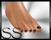 *SS Small Flat Feet Blk
