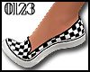 *0123* Checkered SlipOns