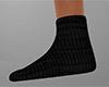 Black Socks flat (F)