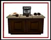 Wood Coffee Counter