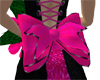 Pink bow w/ Black accent