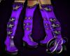 [B]argus boots violet