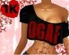 !!1K DGAF tank top