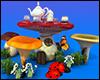 Mushroom Tea Table