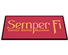 B!- USMC Semper Fi Mat