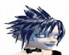 blue&white hair