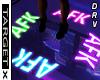 ✘ AFK Sign M