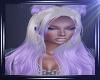 Blonde Purple Hair