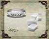 Sugar Cubes & Bowl