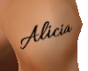 Tattoo Custom Alicia