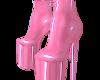 Bubblegum pvc heels 4
