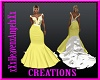 Wedding Gown Yellow