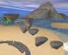 Island Floating Rocks
