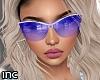 Inc: Glasses Blue