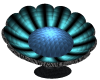 Blue Flower Chair