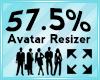 Avatar Scaler 57.5%