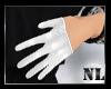!N Gloves White B