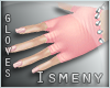 [Is] Spike Gloves Pink