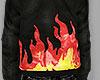 flame hoodie