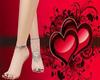 Angel Feet / Red