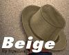 Beige Spring Hat